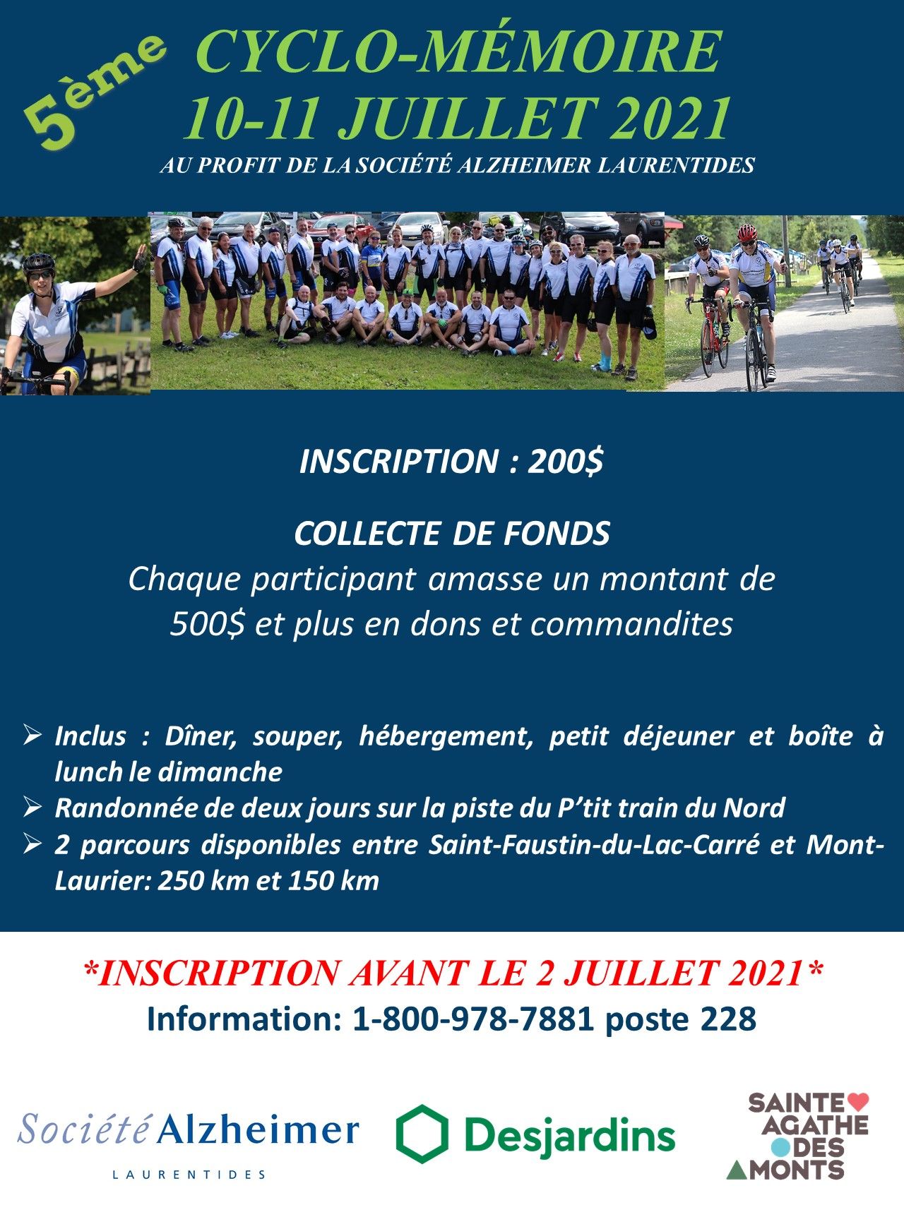 Affiche Cyclo-Mémoire 2021